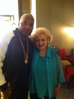 Young Jeezy x Betty White [pic] Young Jeezy, Betty White Movies, Jeannie Mai, Hip Hop Instrumental, My Black Is Beautiful, Beautiful People, White Picture, American Horror Story, My Favorite Music