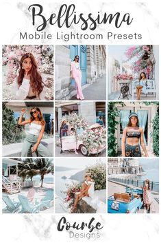 Instagram Theme Ideas Color Schemes, Free Photo Filters, Vsco Themes, Web Design, Instagram Grid, Pink Instagram, Instagram Tips, Lightroom Tutorial, Poses For Pictures