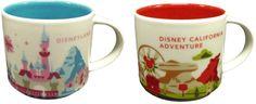 I kinda want these cups!!!! New Disney Parks Starbucks Merchandise Revealed!!