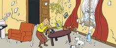 Tintin's apartment at 26 rue du Labrador - The Shooting Star