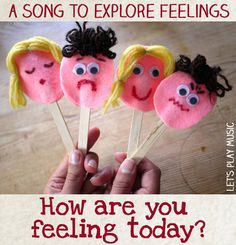 Emotions Song and Puppets