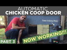 DIY Automatic Chicken Coop Door Opener Build | PART 1 - YouTube