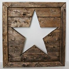 An easy beginner woodworking tutorial to create a cutout wooden star art piece.