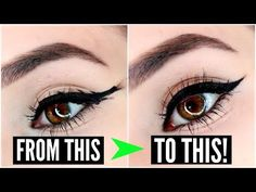 12 EYELINER HACKS for FLAWLESS Winged Eyeliner Every Time! | SylviaGani - YouTube