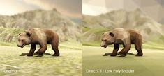 DirectX 11 Low Poly Shader - 资源商店