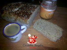 Pão de Granola e Mel - Cozinha Simples da Deia
