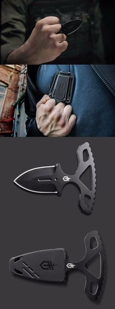 Gerber Knives 972 Uppercut Push Dagger Fixed Combat Blade Knife Cool Knives, Knives And Tools, Knives And Swords, Tactical Survival, Tactical Gear, Survival Gear, Tactical Knife, Gerber Knives, Gerber Tactical Knives