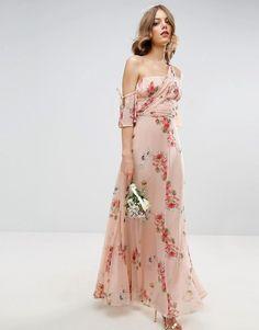 Perfect print for a bridesmaid dress.