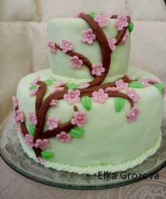 "Торта""Вишнев цвят"""