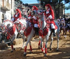 The Sartiglia begins with the dressing of Cape Race, one of the most secretive rituals of the Sardinian tradition.