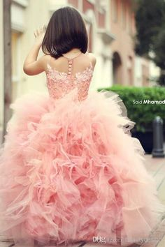 Cheap girls pageant dresses, Buy Quality little girl pageant dresses directly from China flower girl dresses Suppliers: Little Girl Pageant Dresses Lace Ruffles Skirt Peach Tulle Ball Gown Flower Girls Dresses For Wedding Girls Formal Party Dress Little Girl Pageant Dresses, Pink Flower Girl Dresses, Flower Girl Tutu, Lace Flower Girls, Pink Dress, Girls Dresses, Dress Lace, Infant Dresses, Gown Dress
