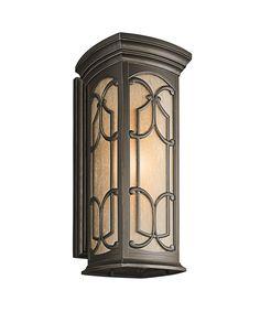 Kichler 49229 Franceasi 1 Light Outdoor Wall Light