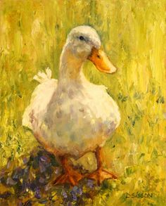 How to paint birds and feathers oil painting. Simple step by step acrylic painting reeds water with duck duration. Sunny Side Duck Oil Painting Farm Animal Palette Knife Art I…Read more of Duck Oil Painting Farm Paintings, Animal Paintings, Landscape Paintings, Art Canard, Duck Art, Farm Art, Knife Art, Knife Painting, Watercolour Painting