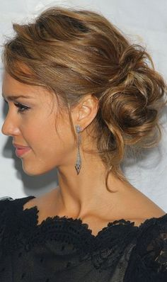 side updo hairstyles for bridesmaids