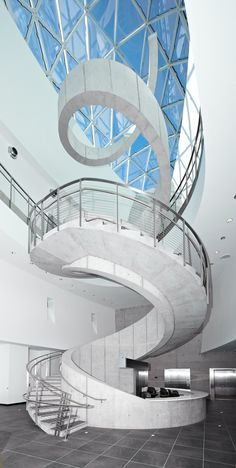 Dali Museum in St Petersburg, FL. Win tickets to this incredible museum. Look for the Simply Sarasota Tour of Homes by the Junior League of Sarasota coming February Stairs And Doors, Stairs And Staircase, Take The Stairs, Grand Staircase, Spiral Staircase, Staircase Design, House Stairs, Amazing Architecture, Architecture Details