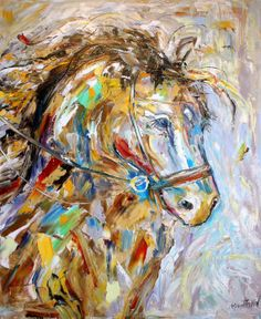 Reserved for John Original Portrait of a Horse by Karensfineart, $265.00