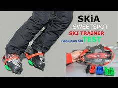 Skia Sweetspot Trainer / great accessory to exercise your balance prior to go skiing, as a dryland tool / recommended by Fabo @fabulousSki #video #ski #skiing #videomarketing
