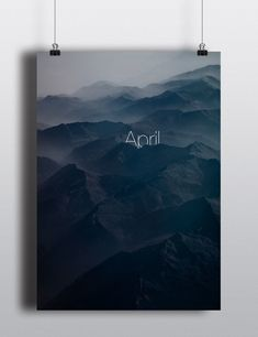 Perpetual Calendar by Arina Pozdnyak #april #aprile #calendario