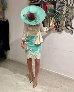 create an account or log Kentucky Derby Hats, Vestidos Vintage, Love Hat, Mother Of The Bride, Party Dress, Hat Party, Fashion Dresses, Fancy, Costume