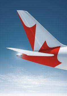 Air Canada Livery, by Flavio Carvalho
