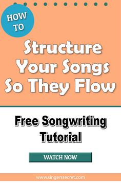 Free tips on writing a song