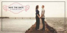 The front of our vintage postcards. These were our save the date cards for our wedding. Day Of My Life, Save The Date Cards, Vintage Postcards, Wedding Stationery, First Love, Our Wedding, Dating, Couple Photos, Mac