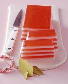 Como fazer sabonetes em listras vermelhas para presente de Natal ~ VillarteDesign Artesanato