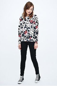 Eleven Paris Minnie Mouse Raglan Sweatshirt