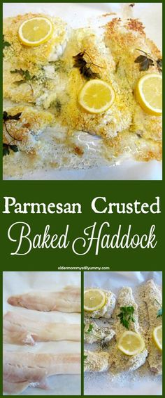 How to Make Parmesan Crusted Baked Haddock. Easy and so delicious!