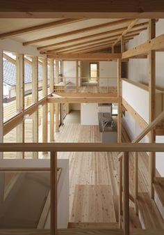 Japanese timber frame
