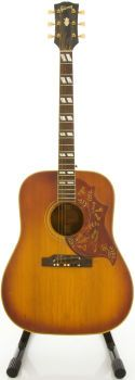 63 Gibson Hummingbird Cherry Sunburst Acoustic Guitar -- I bet songs just ooze out of this thing...