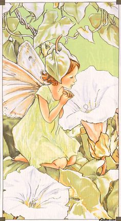 'White Bindweed Fairy' [detail] (artwork by Cicely Mary Barker) Fairy Land, Fairy Tales, Illustrations, Illustration Art, Cicely Mary Barker, Vintage Fairies, Love Fairy, Beautiful Fairies, Flower Fairies
