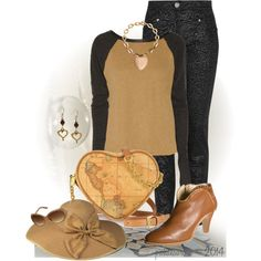 """Hearts"" by pwhiteaurora on Polyvore ~ created 8-27-14"