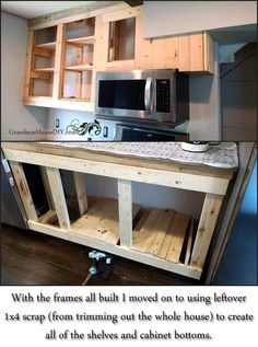 Lovely Built In Cabinet Plans