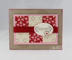 Stampin Up Card Ideas | Stampin' Up! Project Ideas - Andrea Walford, Sunny Stampin' Blog ...