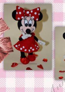 MİNNİ MAUSE TARİFİ Crochet Horse, Crochet Baby, Crochet Disney, Crochet Doll Pattern, Knitted Dolls, Baby Knitting Patterns, Mini, Disney Characters, Crochet Mickey Mouse