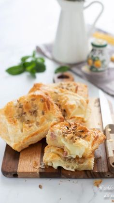 Cooking Time, Cooking Recipes, Healthy Recipes, Crepes, Flaky Pastry, Cata, Savoury Dishes, Aesthetic Food, Finger Foods