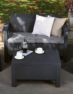 modern wicker patio furniture.  Patio Modern Wicker Patio Coffee Table Outdoor Rattan Backyard Garden Deck  Charcoal For Furniture K