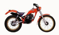 Honda TLR ca after watching an Eddie Lejeune video awoke my interest in Trial and got me one of this, it was a decade of difference with my old Cota I got hooked with trials again. Moto Trial, Trial Bike, Trail Motorcycle, Honda Bikes, Bike Trails, Biking, Dirt Bikes, A Decade, Evo