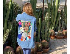 Frida detaylı denim ceket Kanken Backpack, Vera Bradley Backpack, Backpacks, Fashion, Quilt Block Patterns, Moda, Fashion Styles, Backpack, Fashion Illustrations