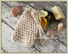 Natural Soap Saver Drawstring Soap Sack Bath Soap Pouch #Handmade