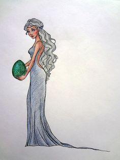 Daenerys Targaryen by Lulu-Lomaki