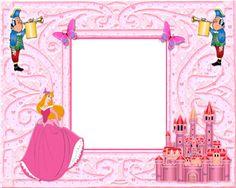 Disney Frames | Pink Royal Photo Frame | Cartoon frame design