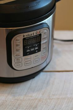 How I've been Using My Instant Pot If I had more space on my countertops, I'd leave it out all the time, as I've been using it nearly every day. So far, here are my favorite foods to cook in it: Squash. SO easy– just halve, scrape out seeds, and in around 8 minutes it's cooked to perfection. Quinoa. Dump it in with some water, set the timer, and go out to milk the cow. It'll be ready for breakfast when you get back. Chili. You can put DRY, UNSOAKED beans right in with the...