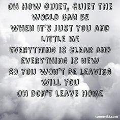Dido lyrics