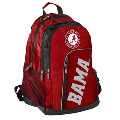 Alabama Crimson Tide Elite Backpack Alabama Football Gear 12922ded50a1e