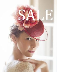 Christmas in July SALE 30 OFF Red Cocktail by EllaGajewskaHATS, £143.00