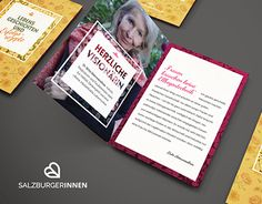 Salzburgerinnen is a new network for women in Salzburg and Marie-Theres Schweitl and Sunil Narda designed the new Corporate Design. We used ornaments and floral patterns for a modern and feminin look. Corporate Design, Working On Myself, New Work, Behance, Gallery, Check, Roof Rack, Brand Design, Brand Identity Design