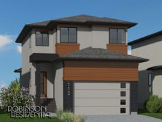 The Contemporary Bristol-1853 plan is an open concept 2-storey plan making an efficient use of space on a modest footprint.  This contemporary plan features: 	Covered entry 	2-storey foyer 	Open concept living space 	Main floor laundry 	2 car garage 	3 bedrooms, 2.5 baths 	Second floor bonus room