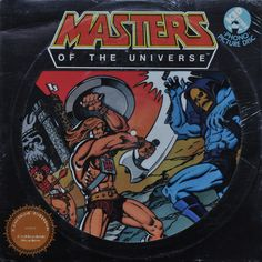 Masters of the Universe picture disc! #MOTU